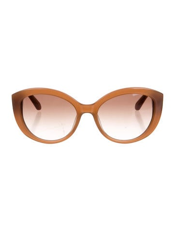 cb6d1a6b55aa Kate Spade New York Sherrie Cat-Eye Sunglasses - Accessories - WKA54079 |  The RealReal