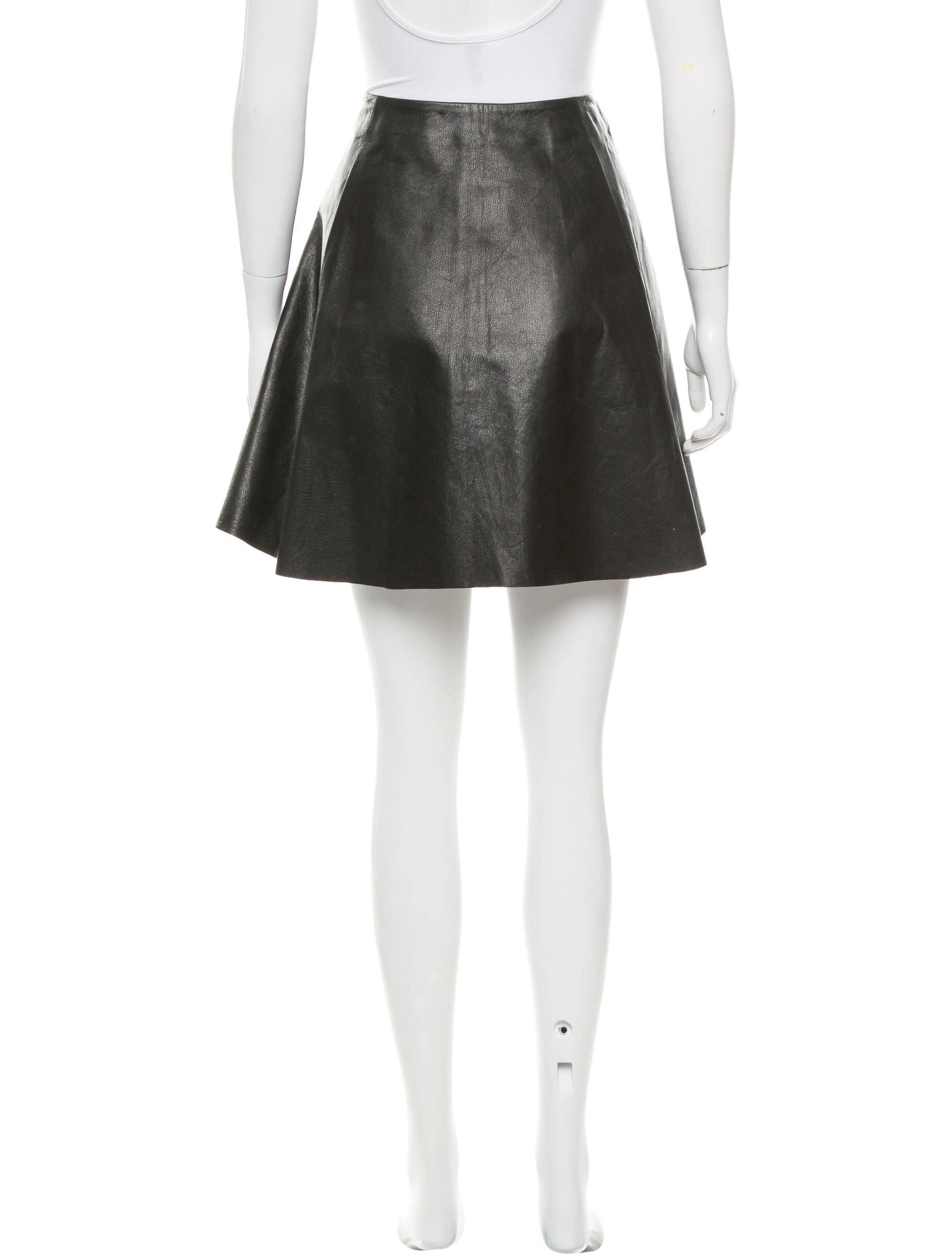 kate spade new york leather mini skirt clothing