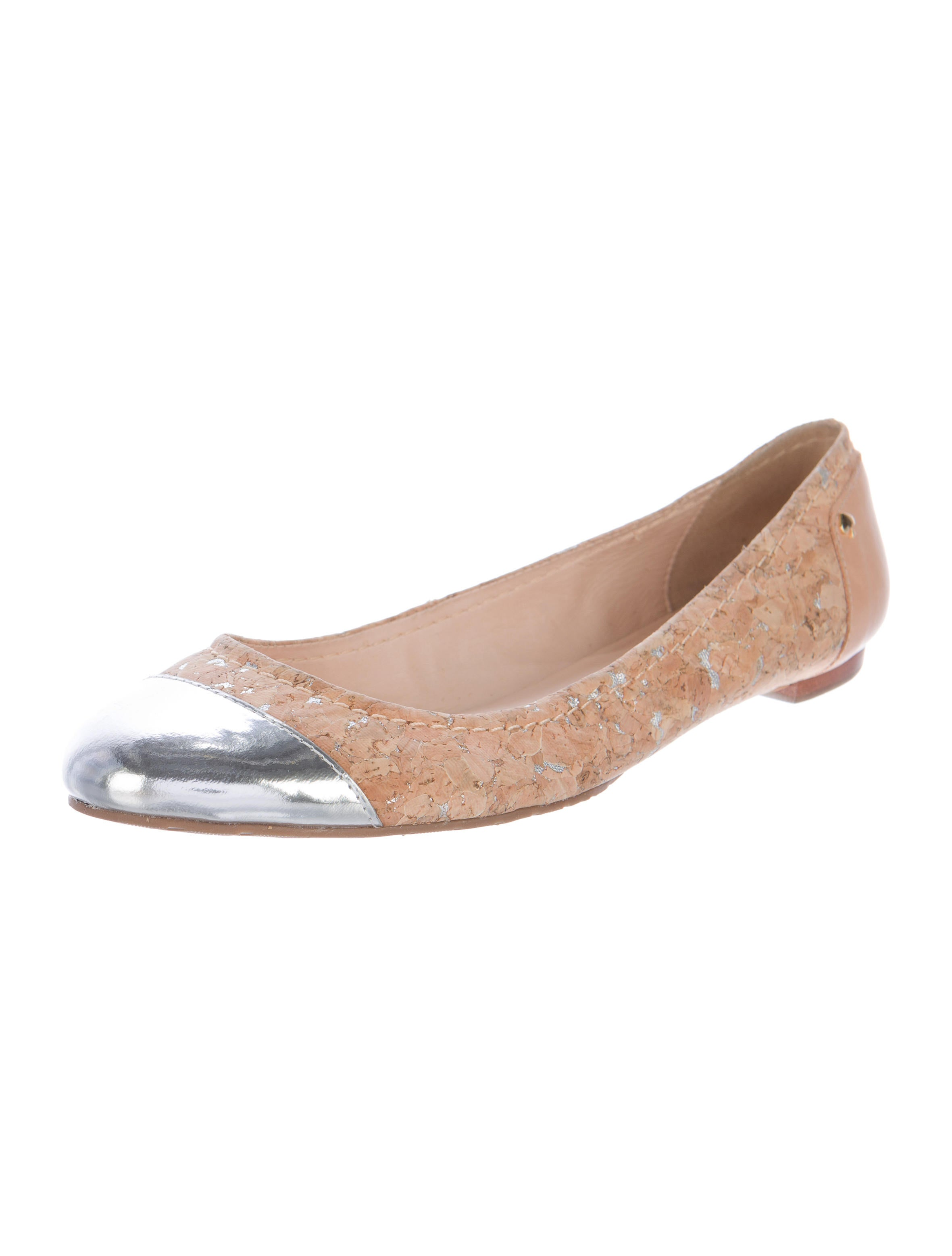 Kate spade new york cork cap toe flats shoes wka54181 for Kate spade new york flats