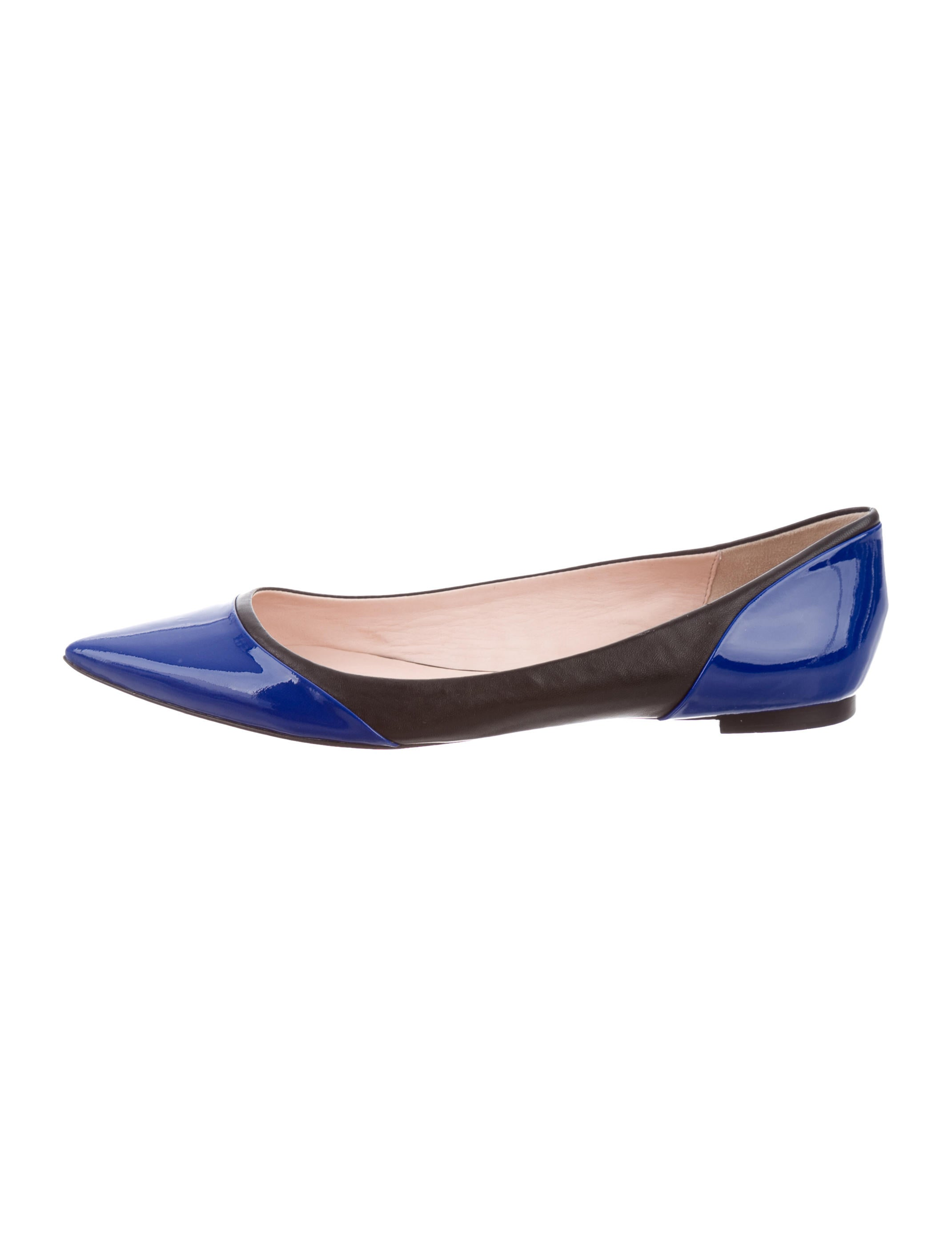 Kate spade new york pointed toe patent leather flats for Kate spade new york flats