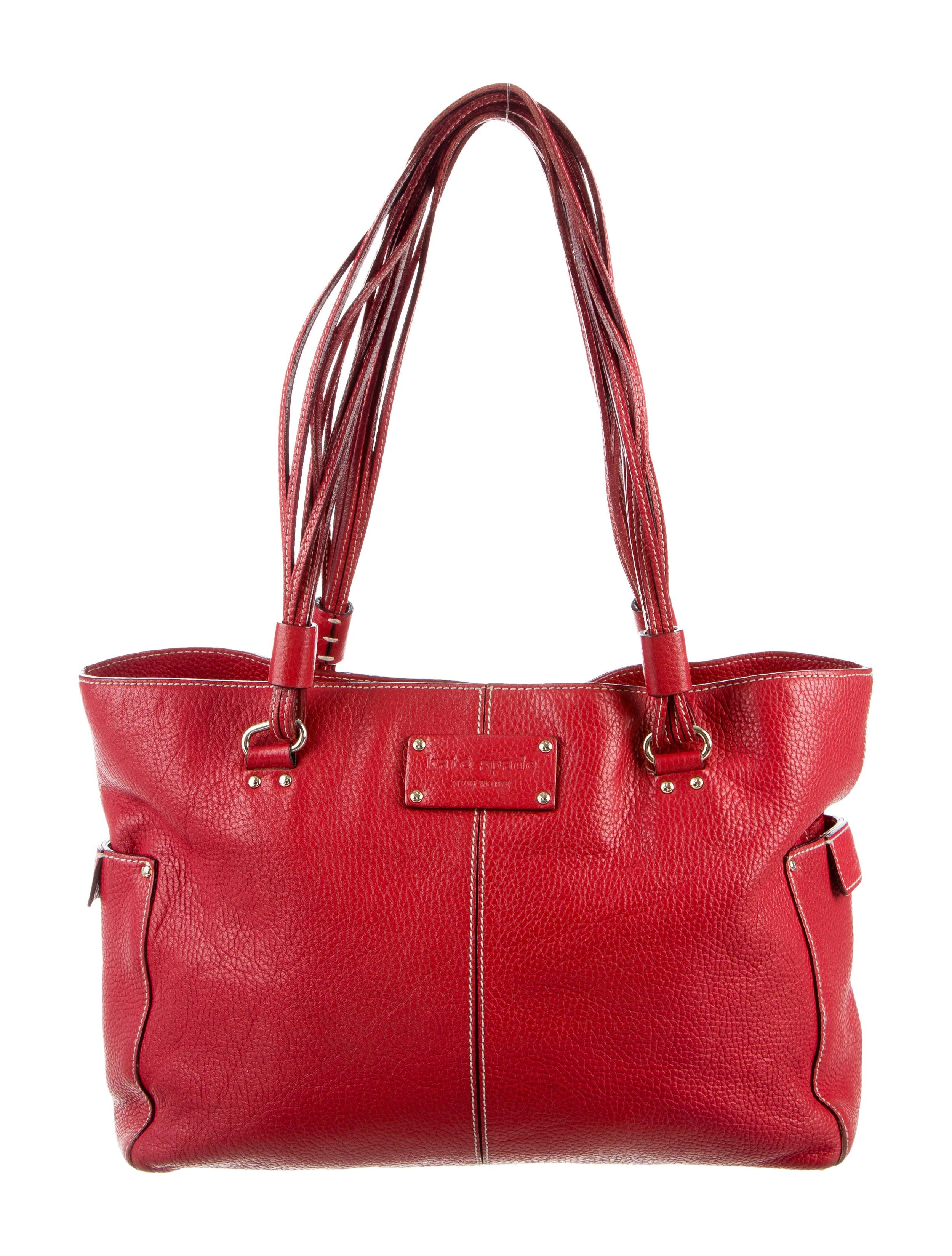 Kate Spade New York Leather Tote Bag Handbags Wka54727