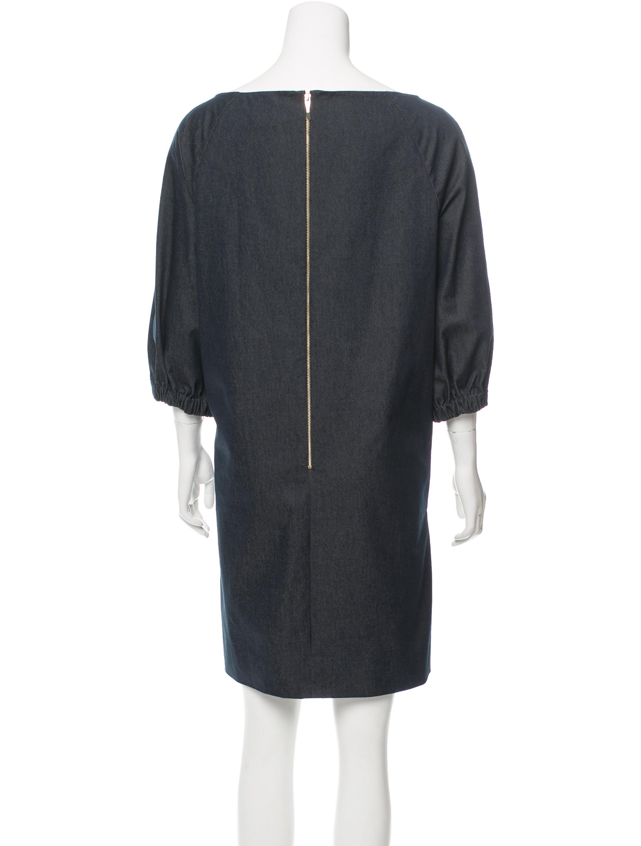 Kate Spade New York Denim Mini Dress Clothing Wka55541