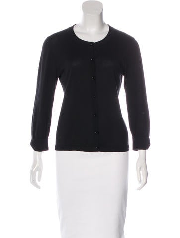 Kate Spade New York Lightweight Round Neck Cardigan None