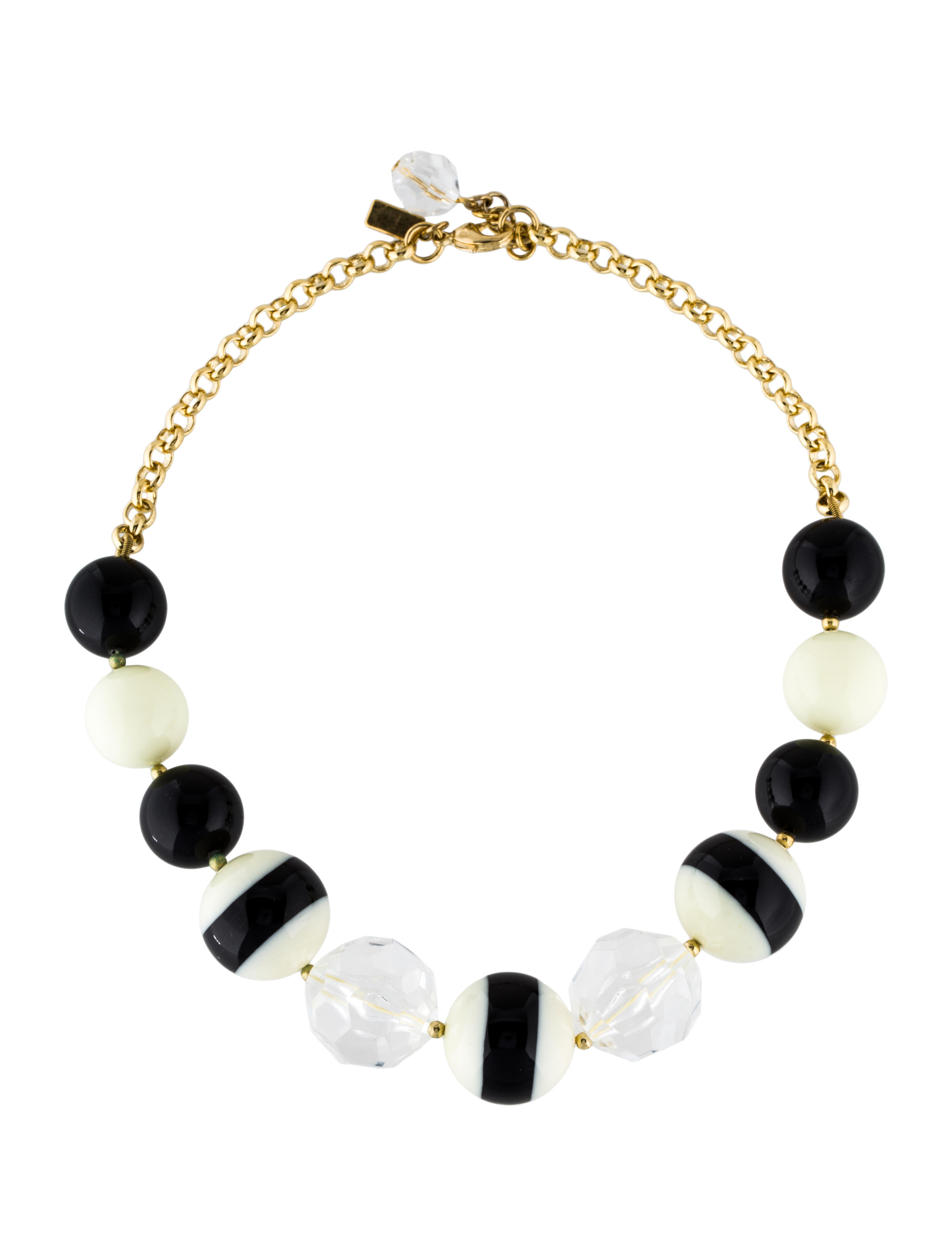 kate spade new york the right stripe necklace necklaces. Black Bedroom Furniture Sets. Home Design Ideas