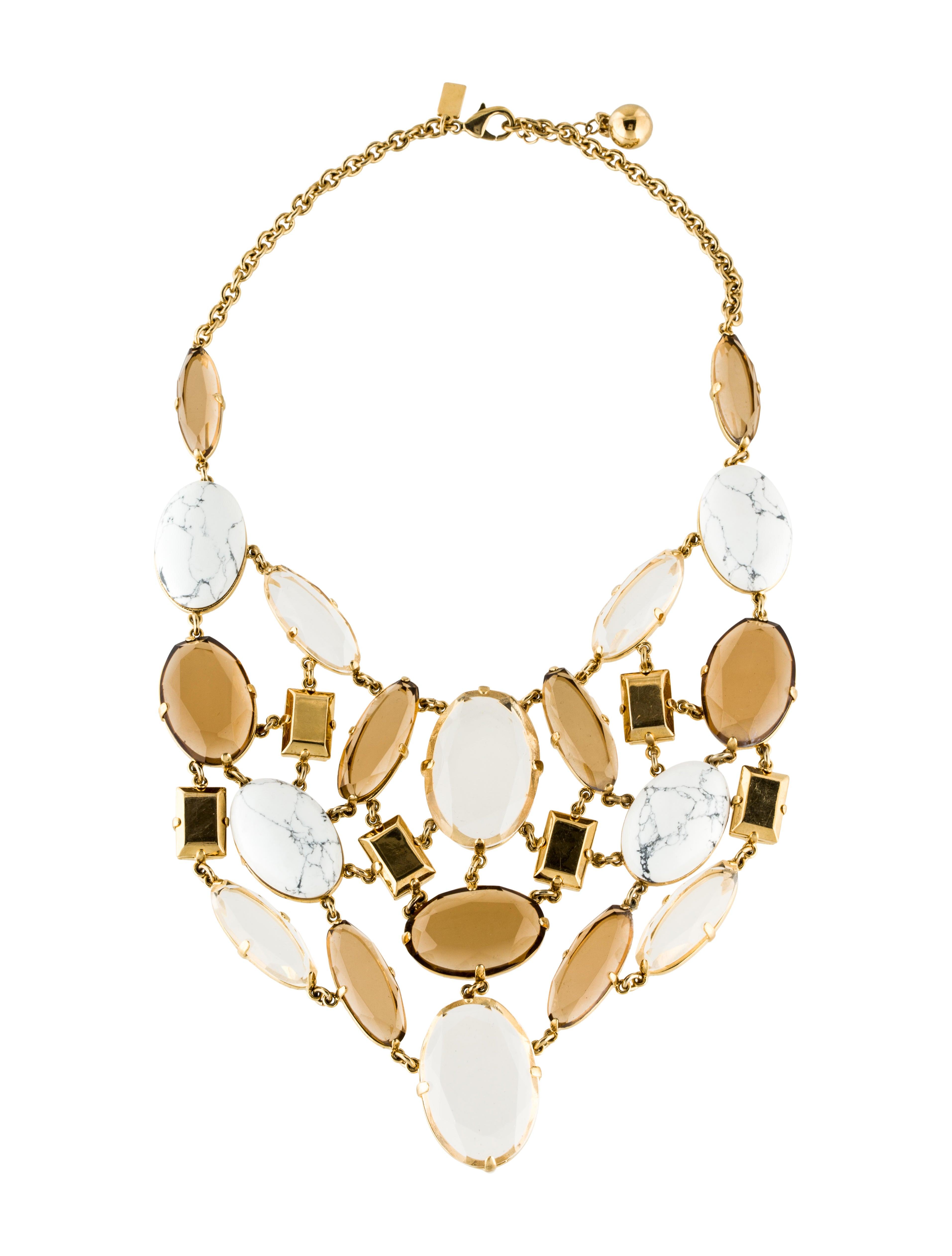 kate spade new york statement necklace necklaces. Black Bedroom Furniture Sets. Home Design Ideas