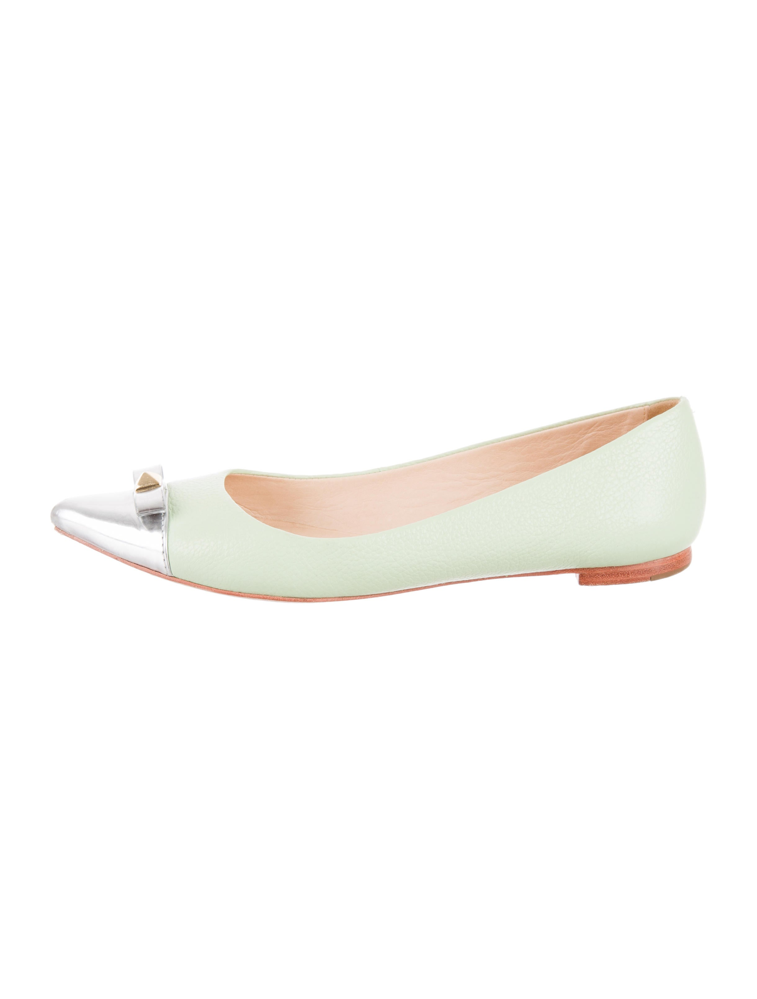 Kate spade new york ginny too cap toe flats shoes for Kate spade new york flats