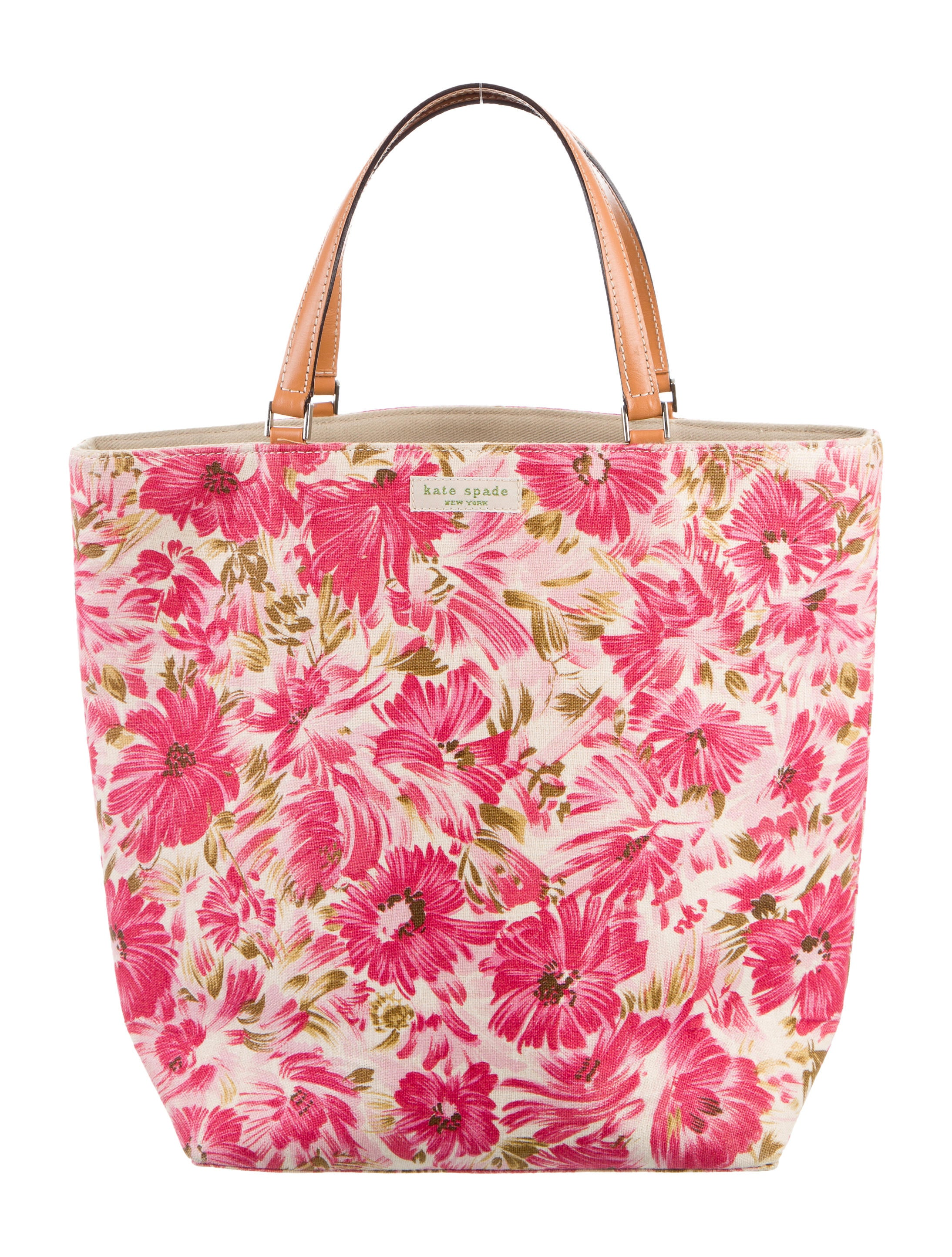 Kate Spade New York Floral Print Handle Bag - Handbags - WKA57248 | The RealReal