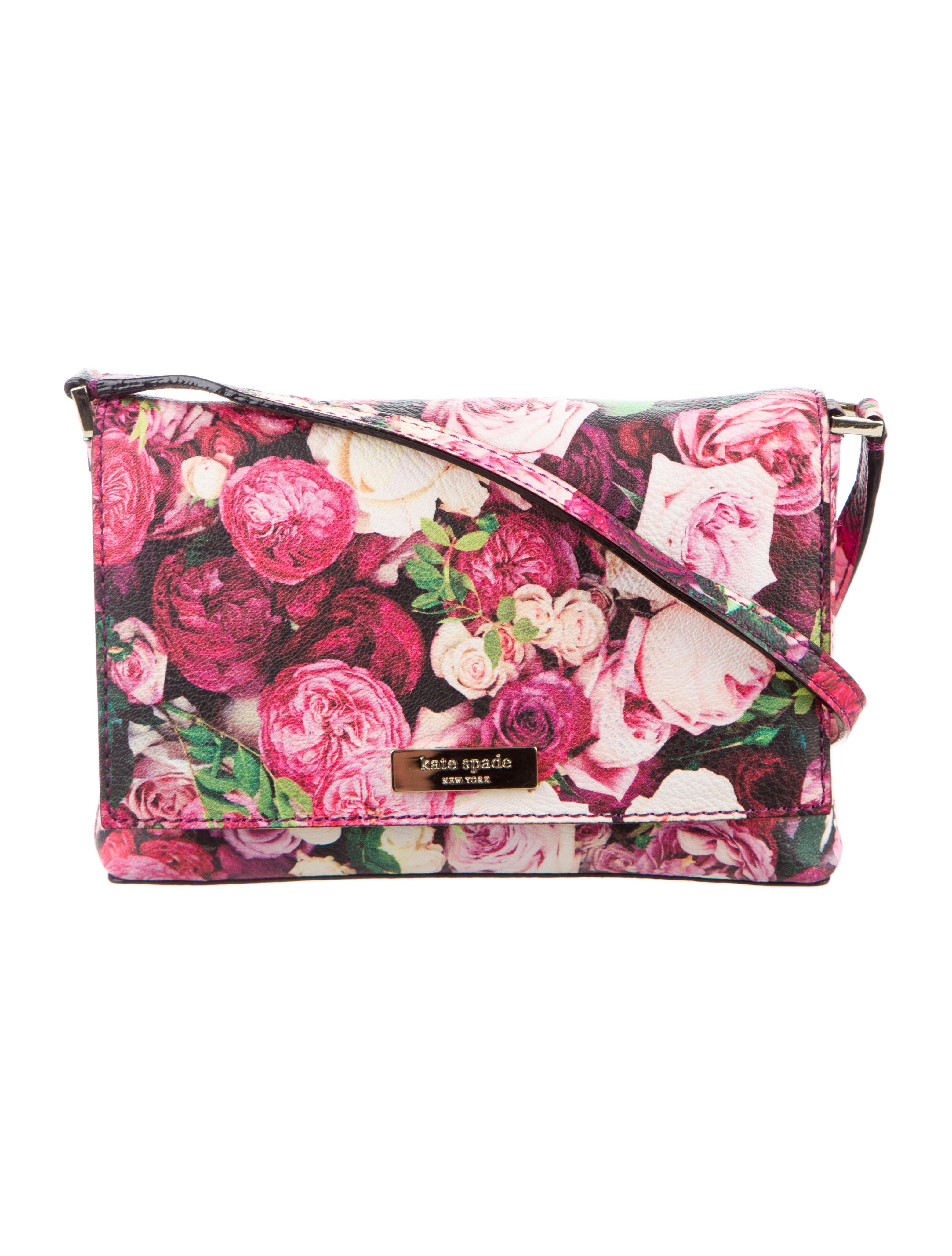 Kate Spade New York Grant Street Floral Sally Crossbody Bag - Handbags - WKA57449 | The RealReal