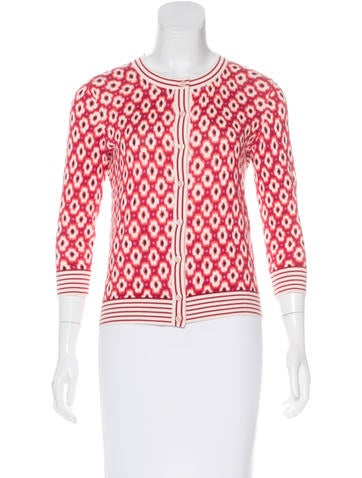 Kate Spade New York Patterned Knit Cardigan None
