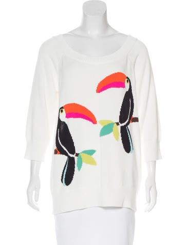 Kate Spade New York Toucan Intarsia Sweater w/ Tags None