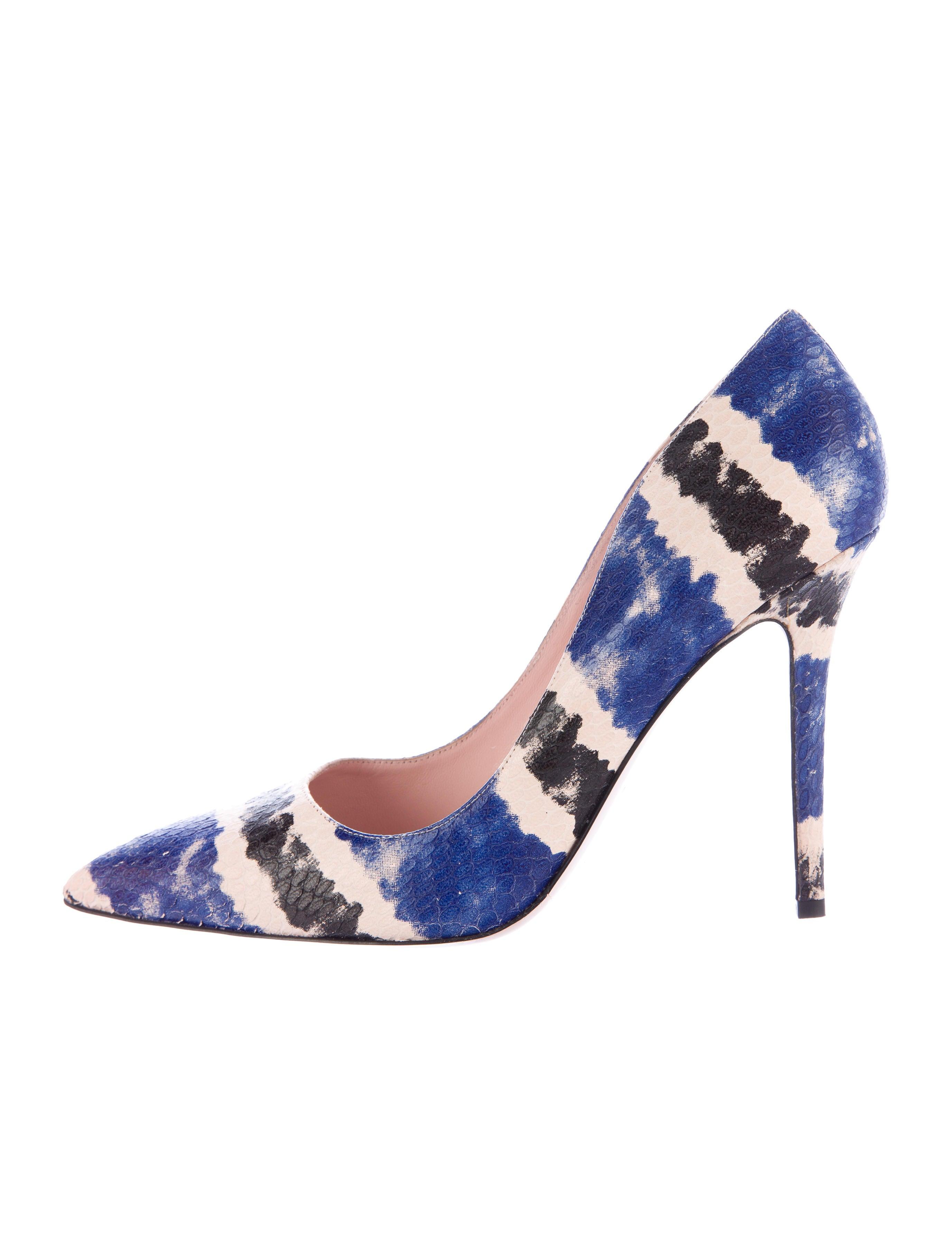 c4da9c50bbff Kate Spade New York Larisa Embossed Pumps - Shoes - WKA58655