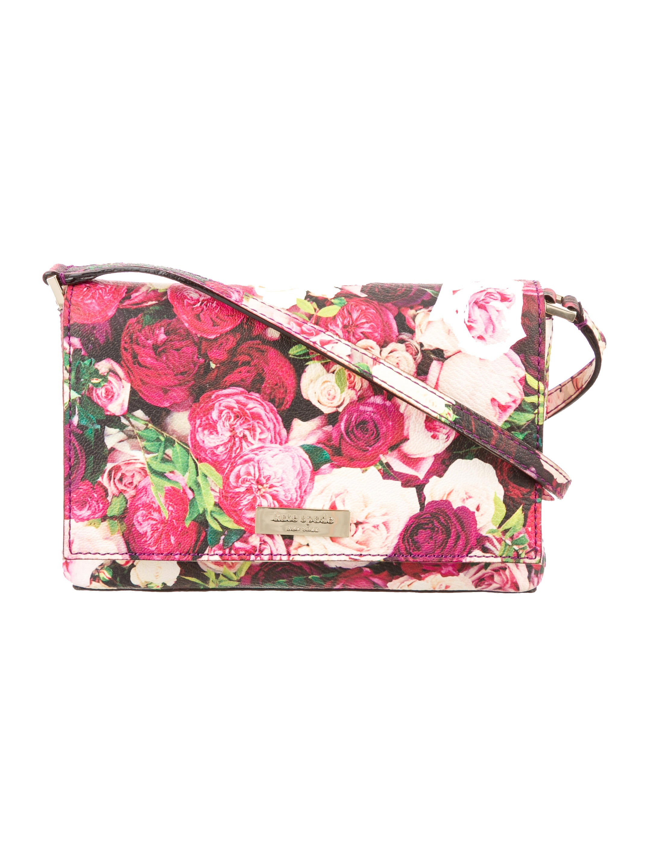 Kate Spade New York Grant Street Floral Sally Crossbody Bag - Handbags - WKA59046 | The RealReal