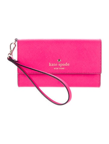 kate spade iphone wristlet kate spade new york iphone 6 6s leather wristlet 2476