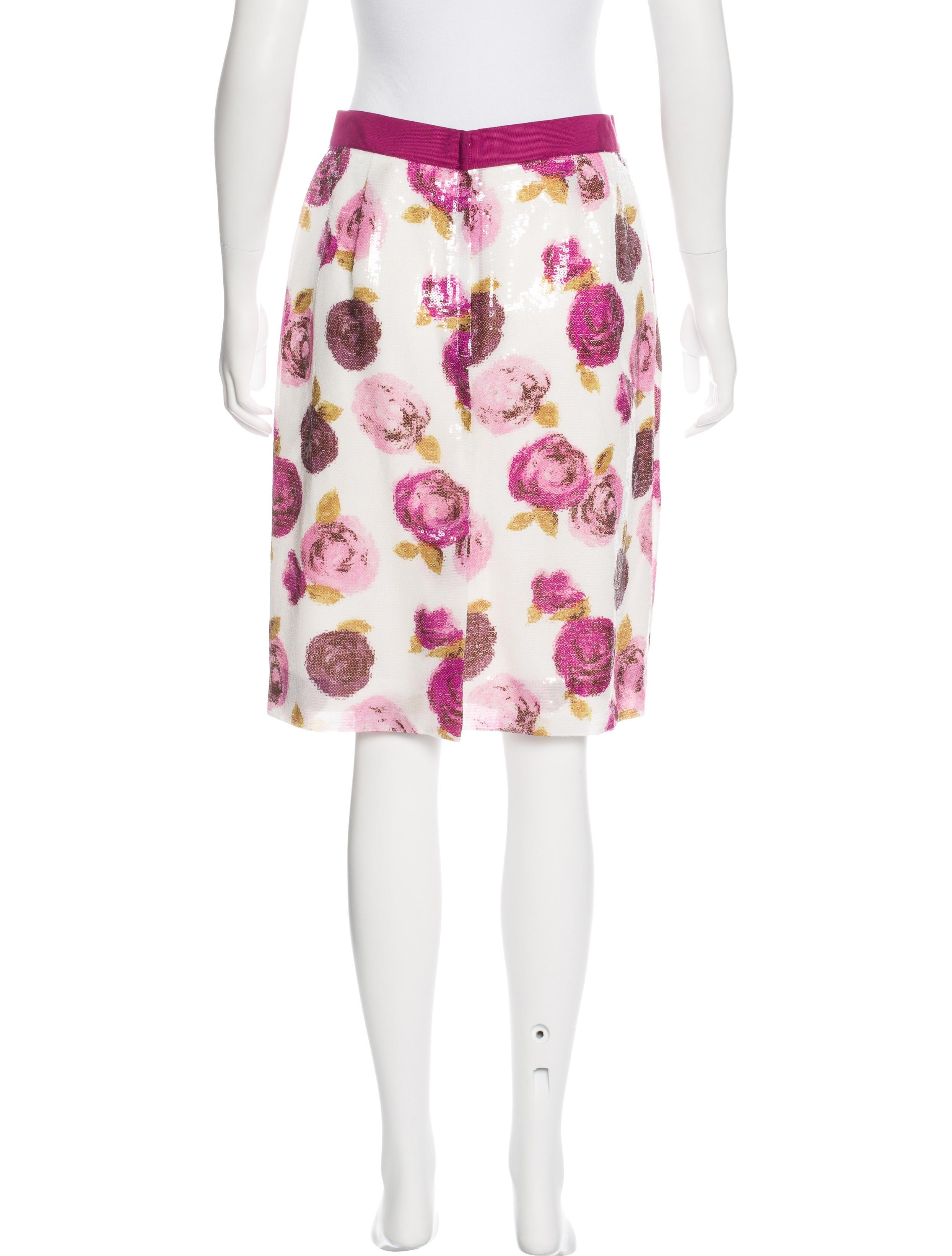 kate spade new york sequined knee length skirt clothing