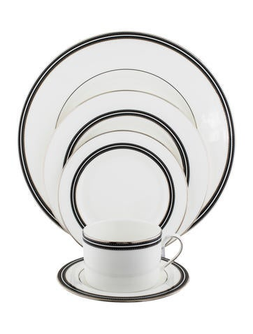 Kate Spade New York 31-Piece Union Street Table Service None
