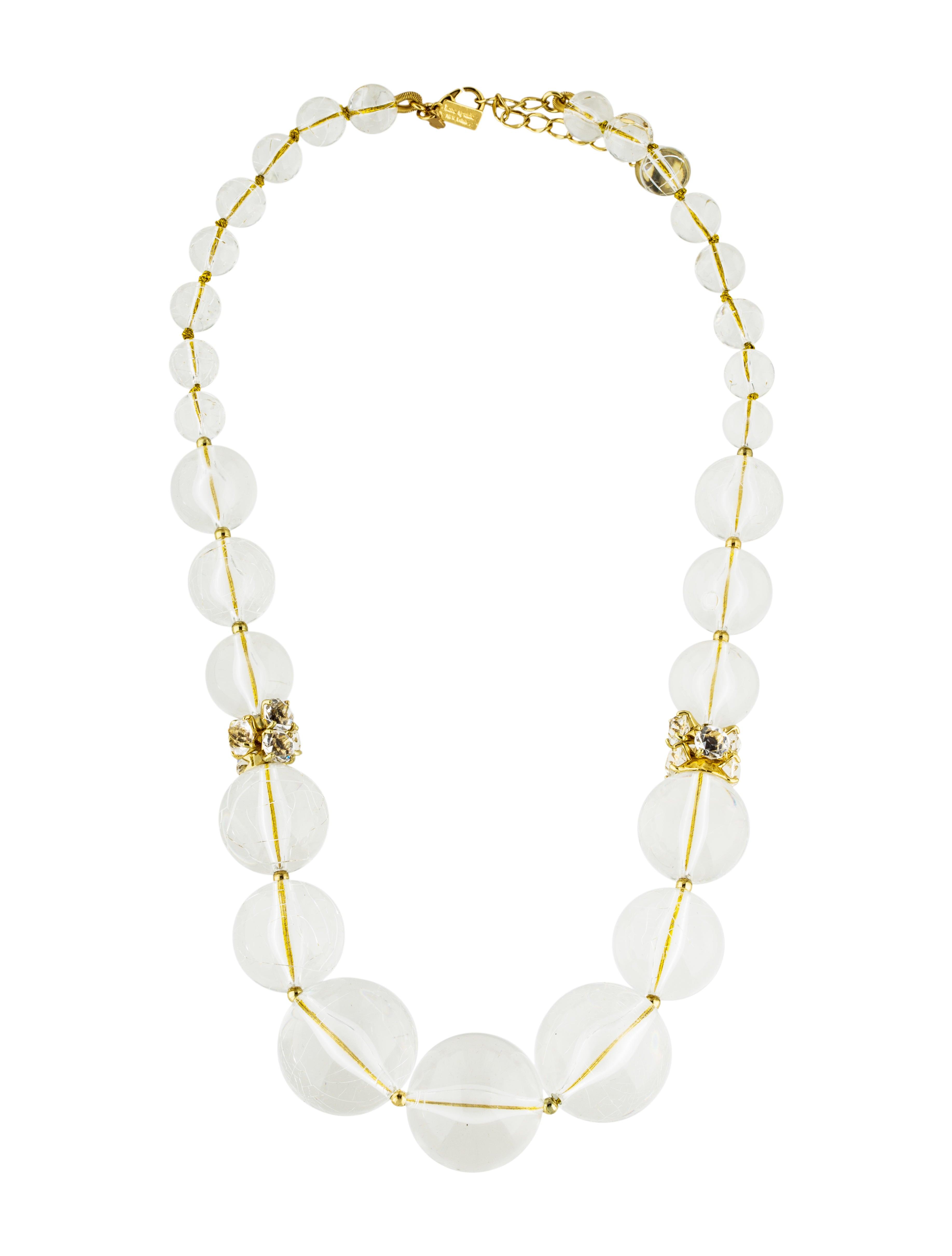 kate spade new york beaded necklace necklaces wka61521. Black Bedroom Furniture Sets. Home Design Ideas