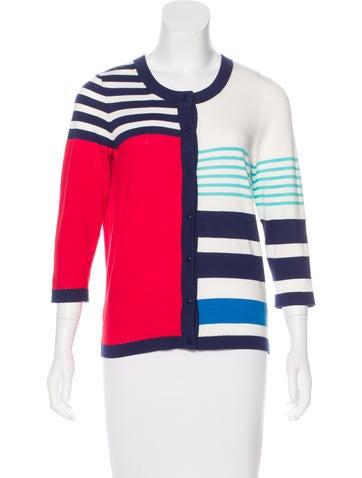 Kate Spade New York Three-Quarter Sleeve Knit Cardigan None