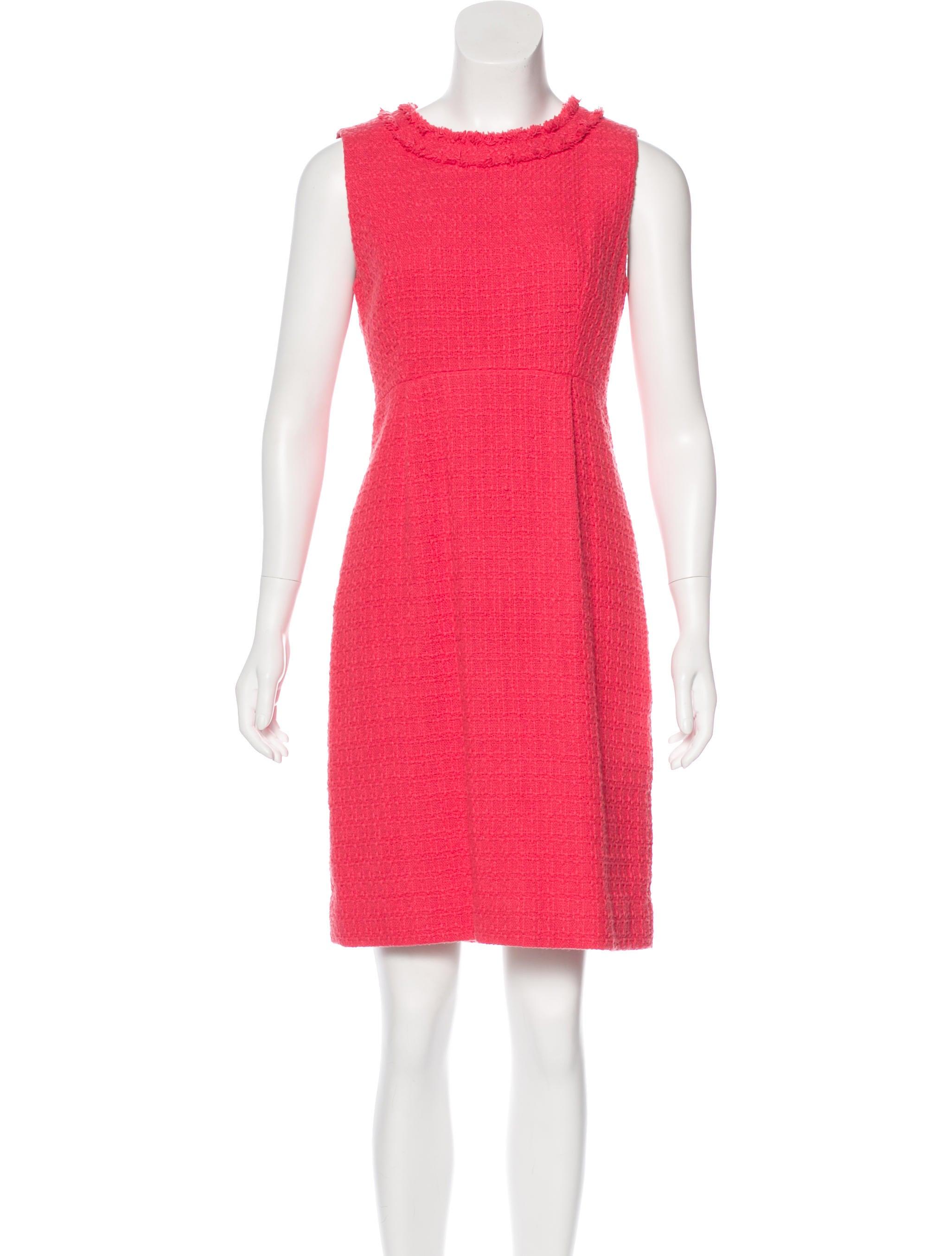 Kate Spade New York Tweed Sleeveless Dress Clothing