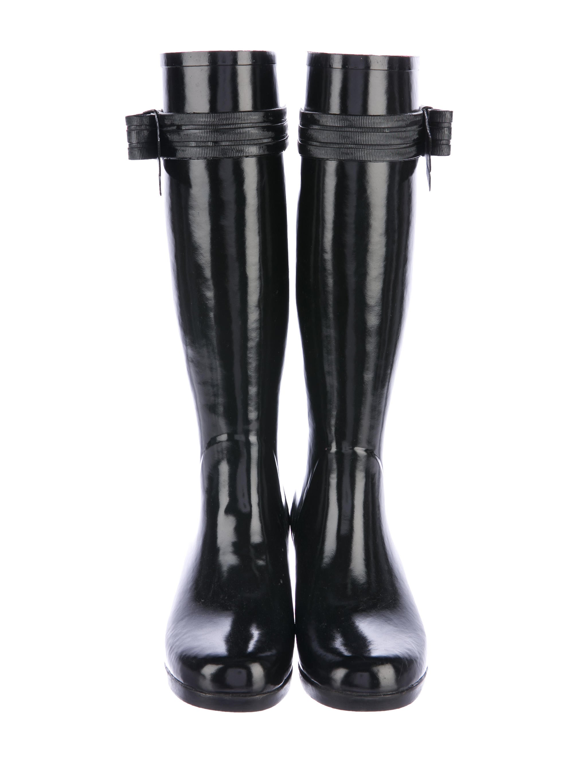 kate spade new york bow accented knee high boots