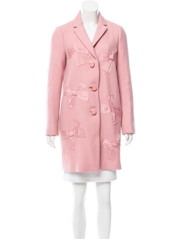 Kate Spade New York Embellished Wool Coat w/ Tags None