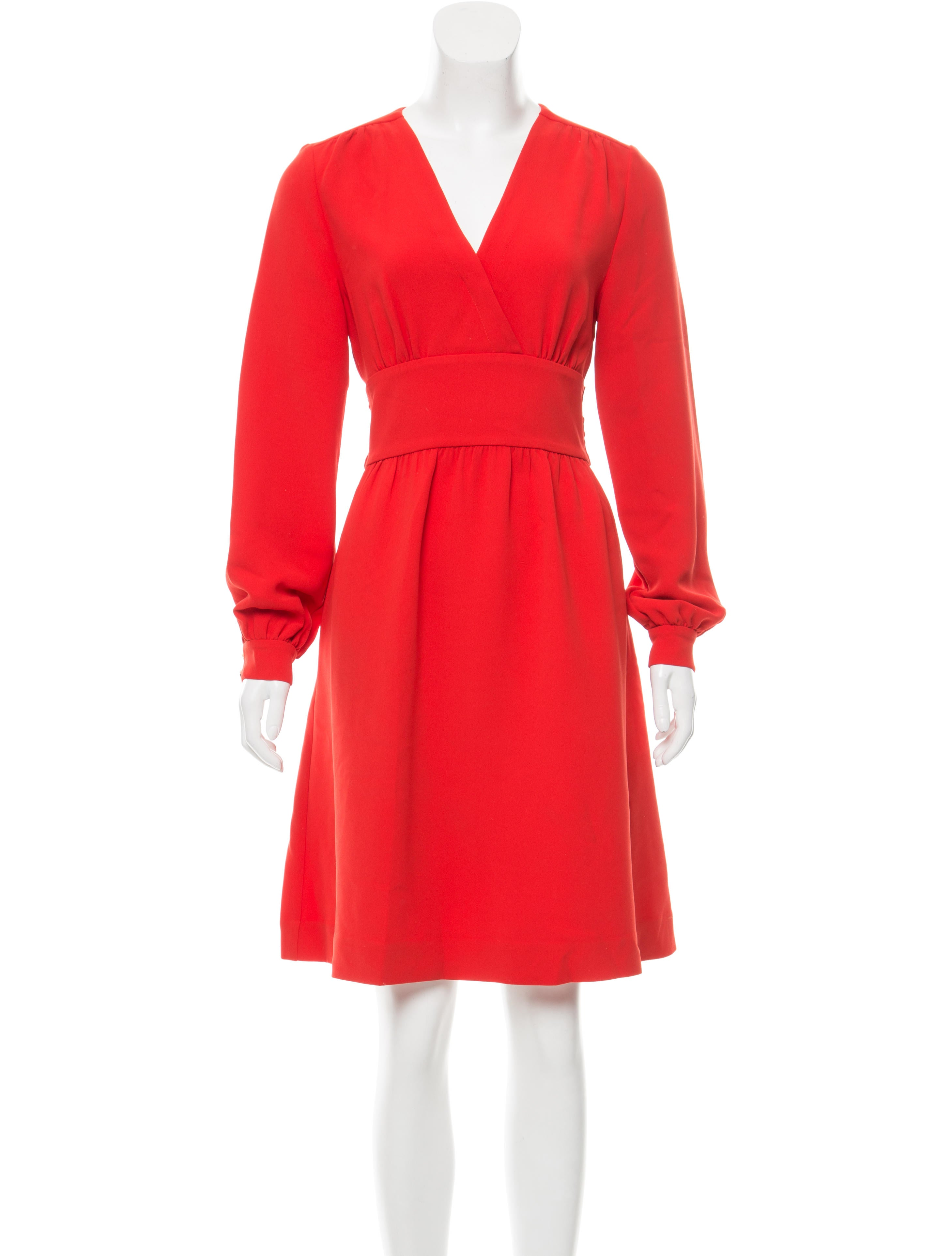Kate spade new york long sleeve knee length dress for New york and company dress shirts