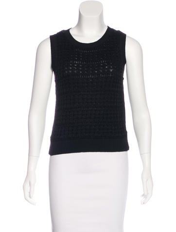 Kate Spade New York Sleeveless Knit Top None