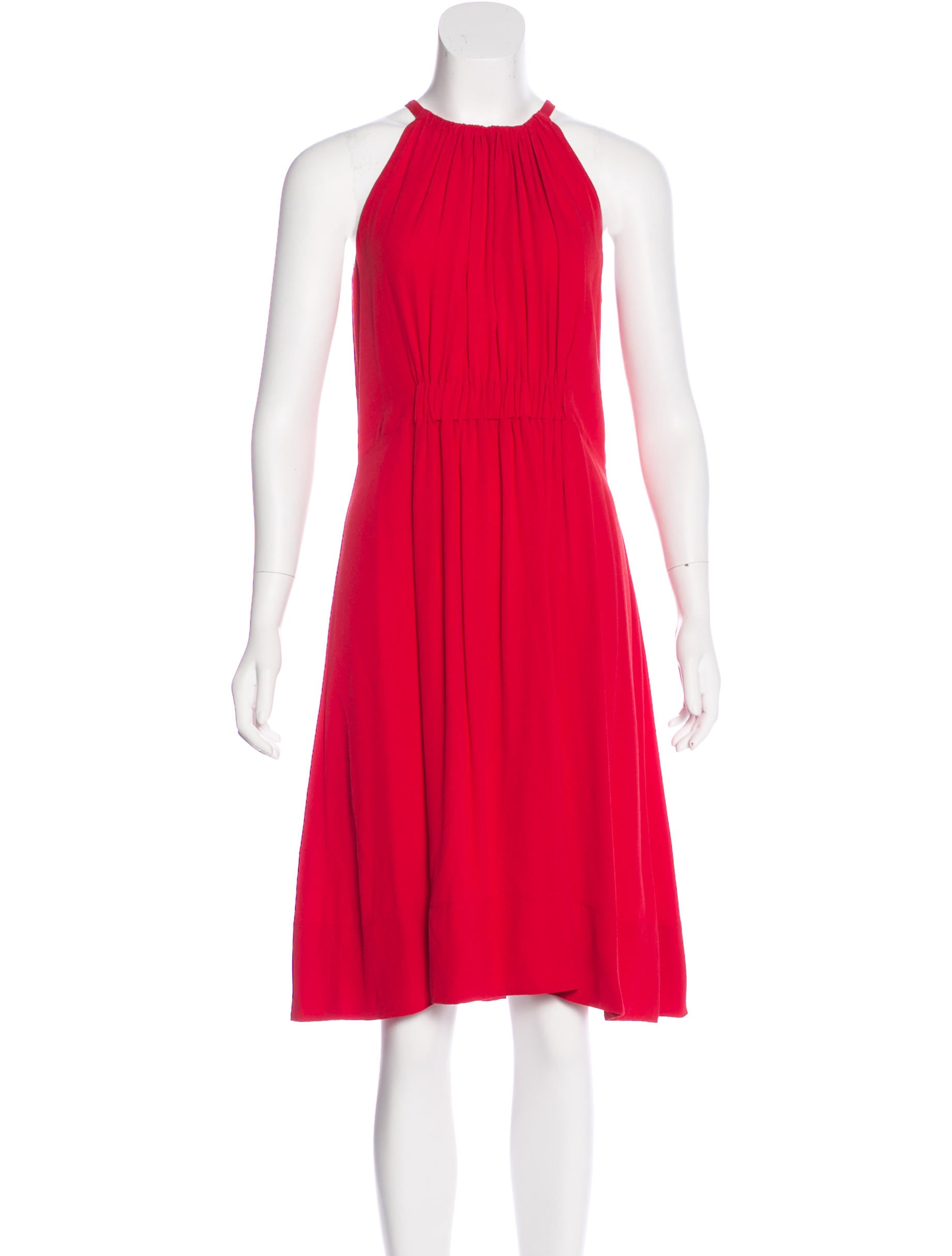 Kate spade new york sleeveless midi dress clothing for New york and company dress shirts