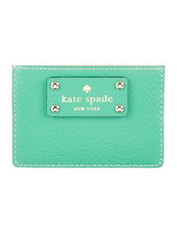 Kate Spade New York Leather Logo Cardholder None