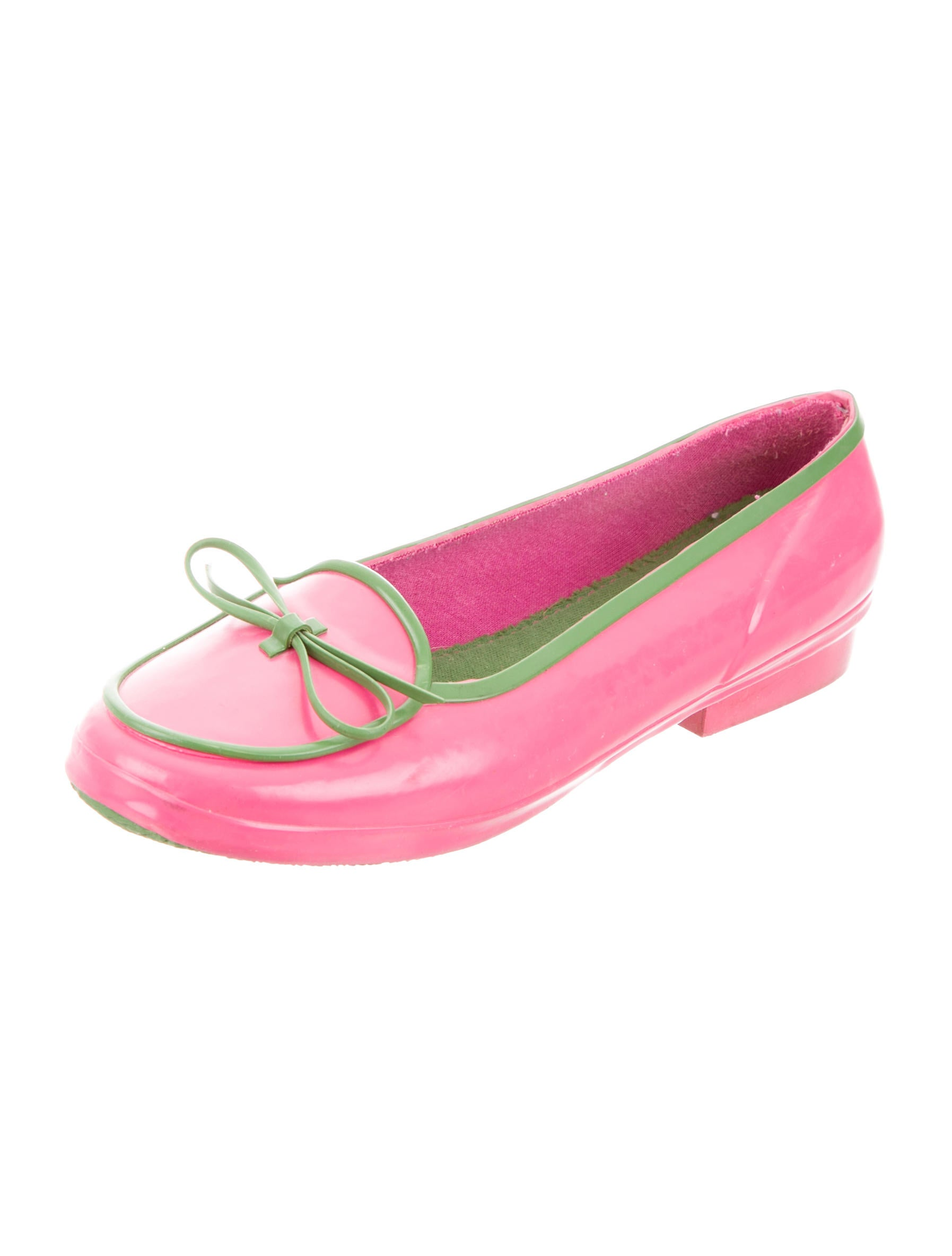 Kate spade new york rubber round toe flats shoes for Kate spade new york flats