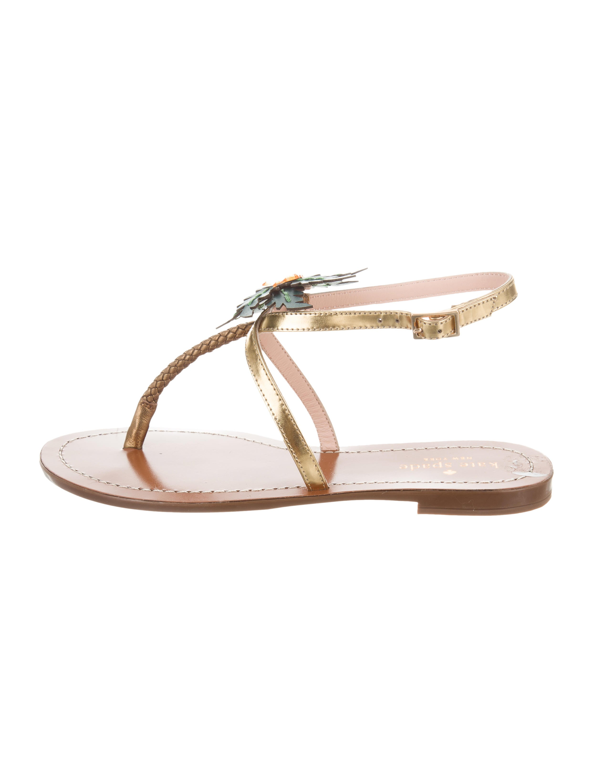 365bf7df11a3 Kate Spade New York Solana Palm Tree Sandals - Shoes - WKA66198 ...