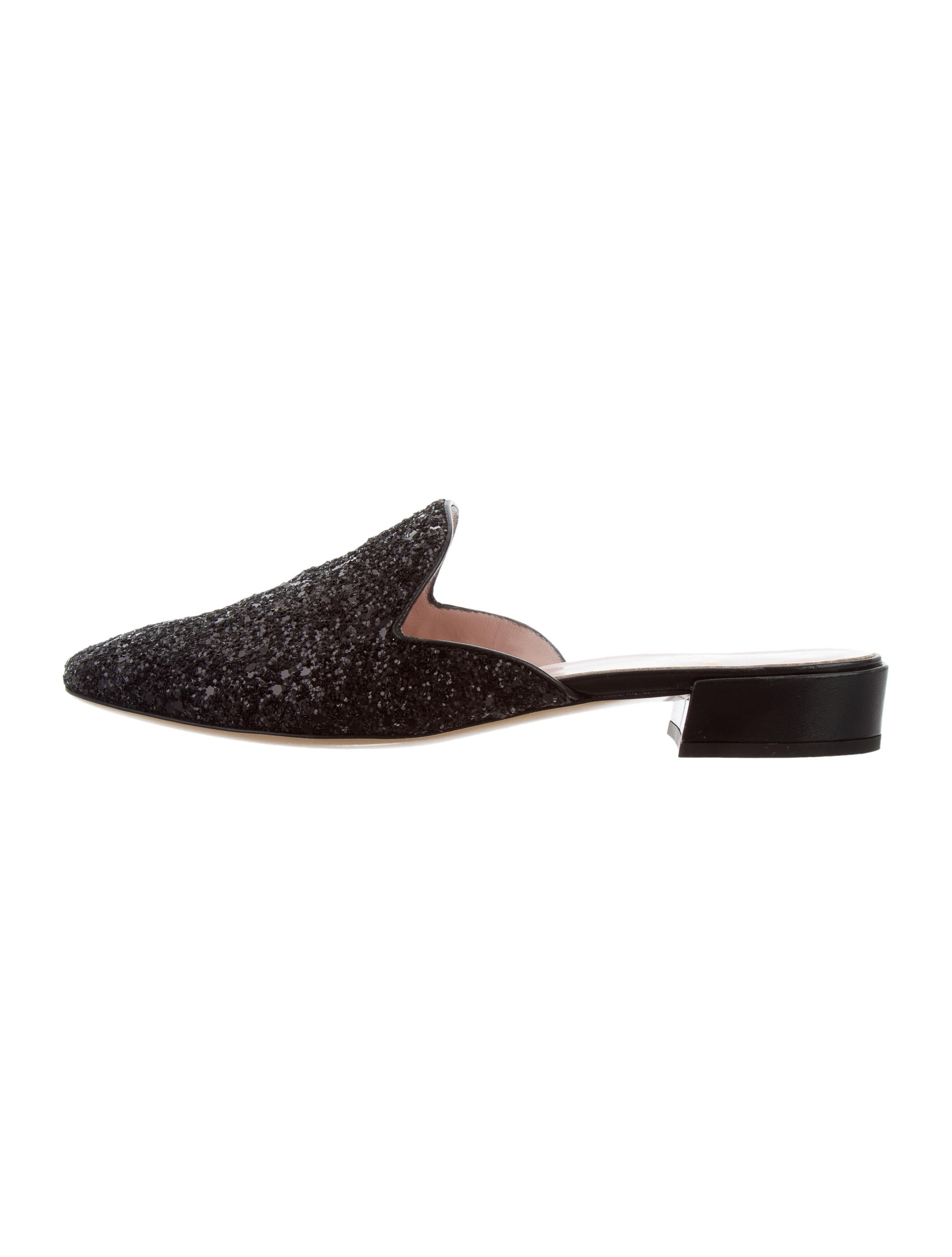 Kate Spade New York Glitter Round-Toe Mules fast delivery online clearance clearance cheap sale with credit card nicekicks cheap price tumblr online taHhgm