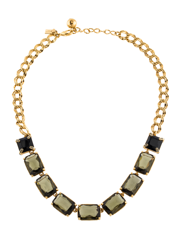 kate spade new york crystal collar necklace necklaces. Black Bedroom Furniture Sets. Home Design Ideas