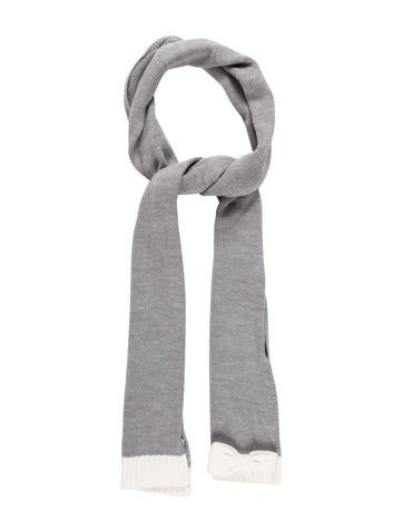 Kate Spade New York Woven Rib Knit Scarf None