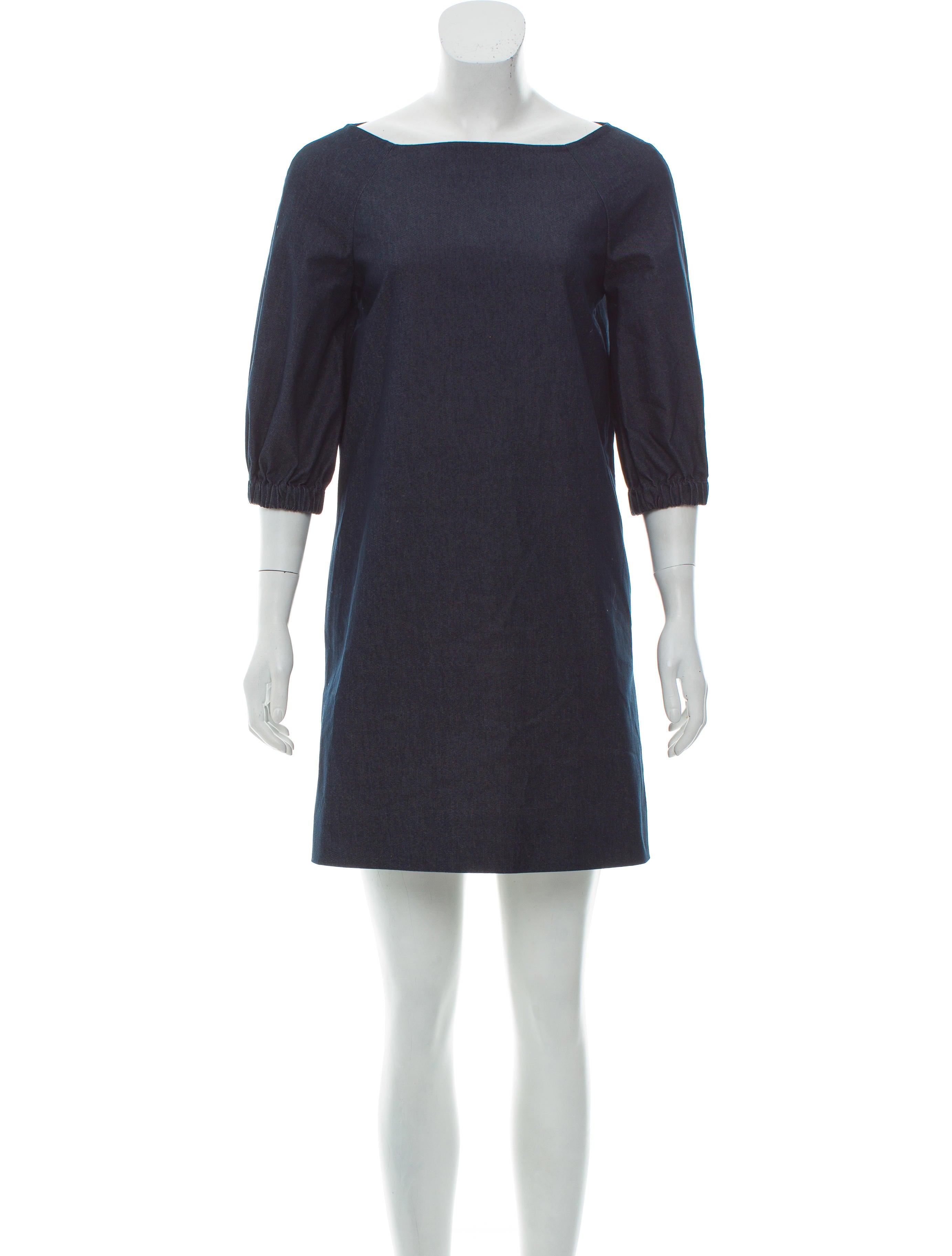Kate Spade New York Chambray Shift Dress Clothing