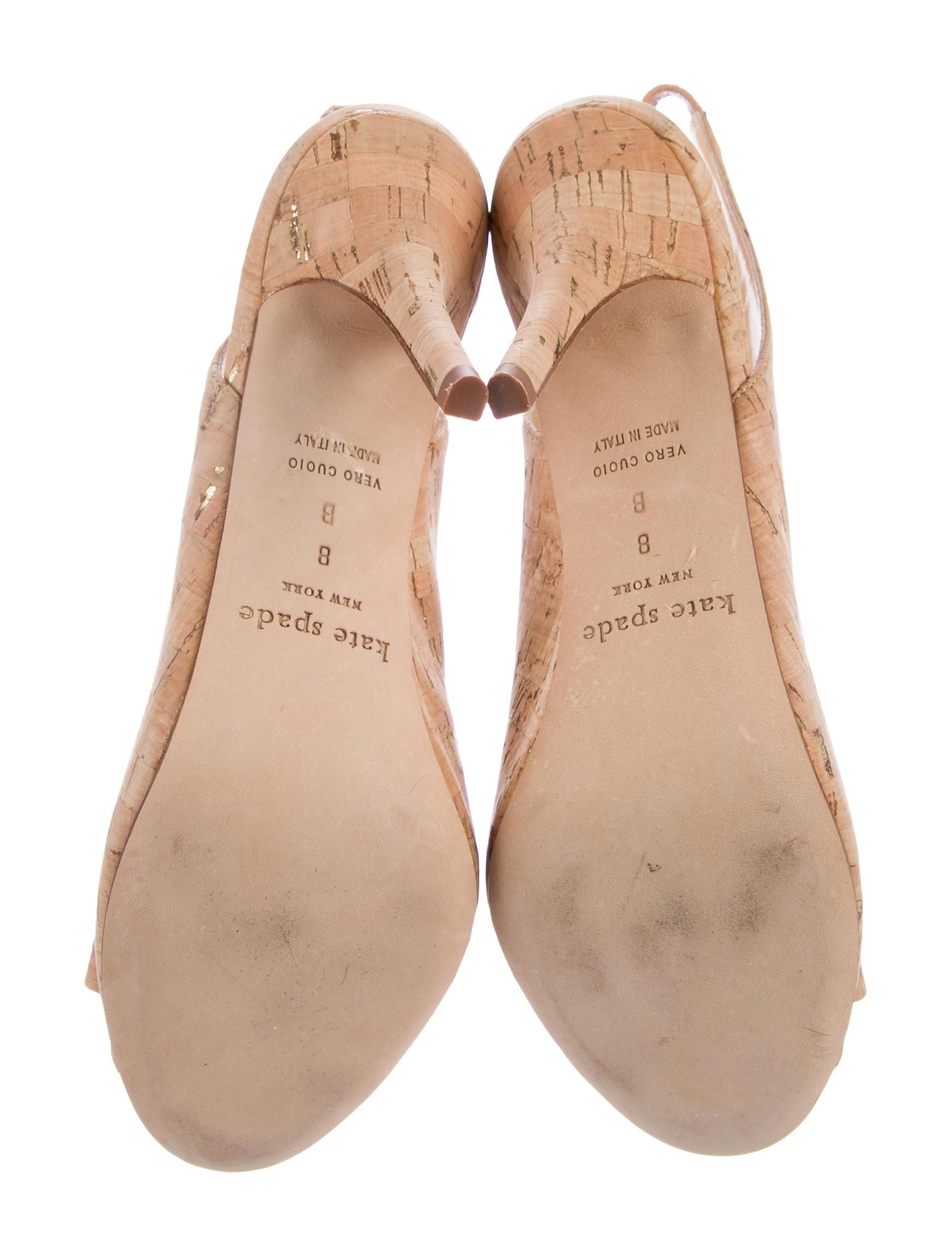 03a5172049c4 Kate Spade New York Cork Slingback Pumps - Shoes - WKA68684