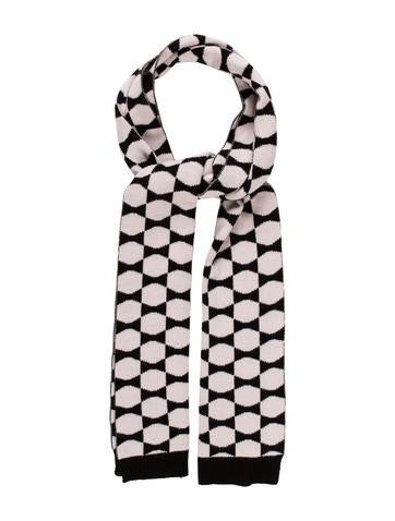 Kate Spade New York Knit Pattern Scarf None