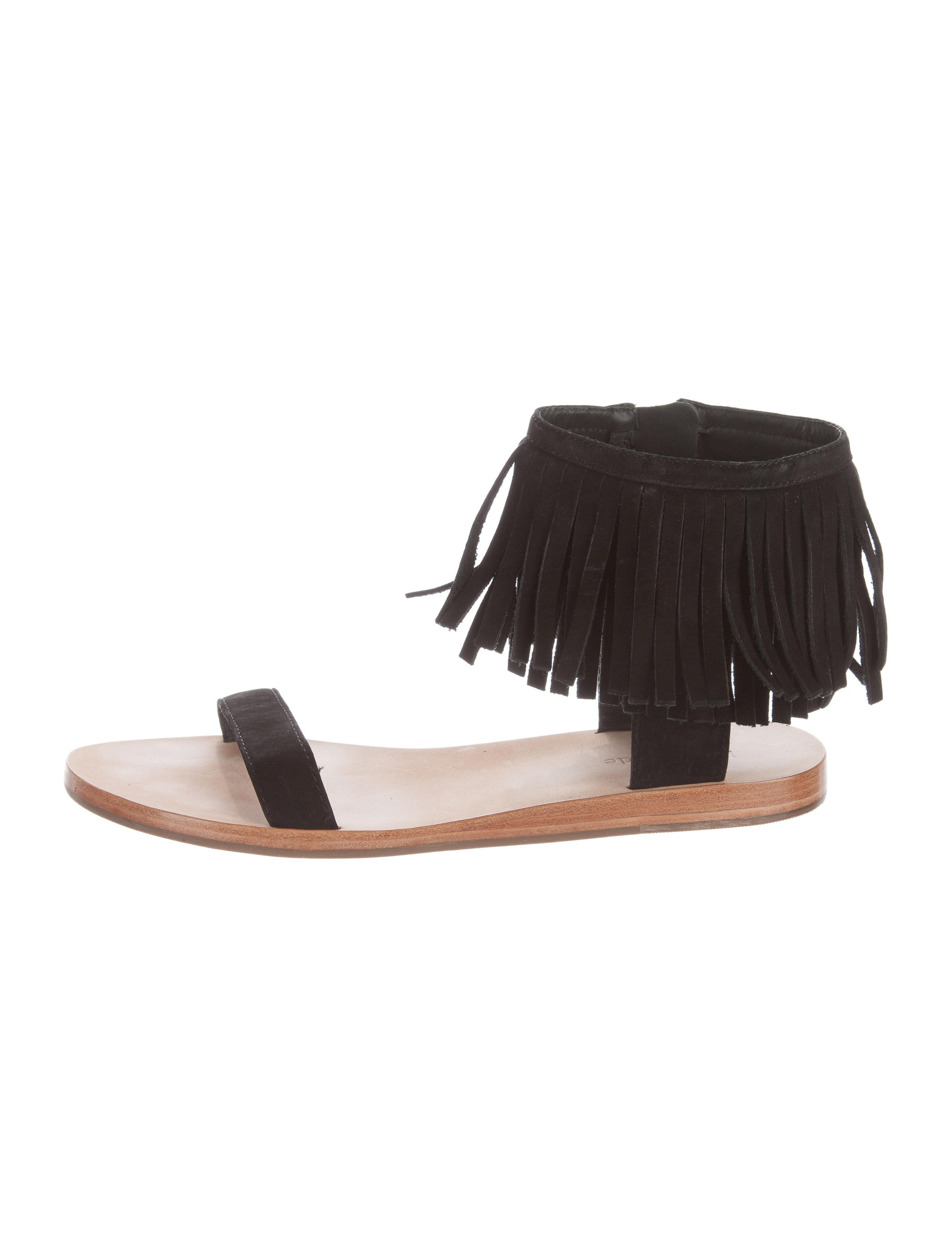 7c39c274f943 Kate Spade New York Halle Fringe Sandals - Shoes - WKA69193
