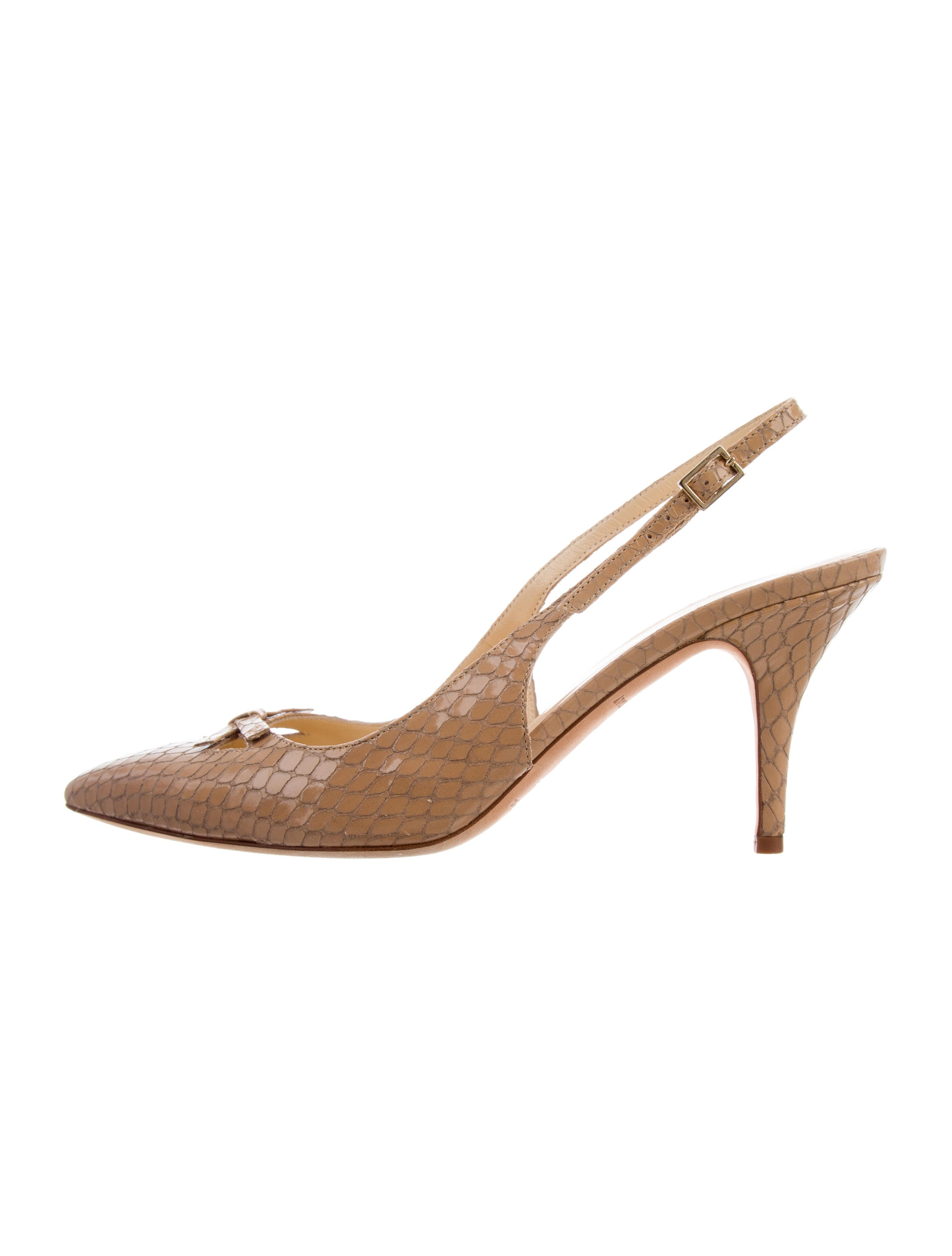 Kate Spade New York Embossed Leather Pumps cheap for sale free shipping visit new under $60 sale online excellent cheap price latest collections sale online Eyr4gs