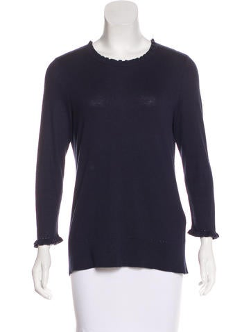 Kate Spade New York Long Sleeve Knit Sweater None