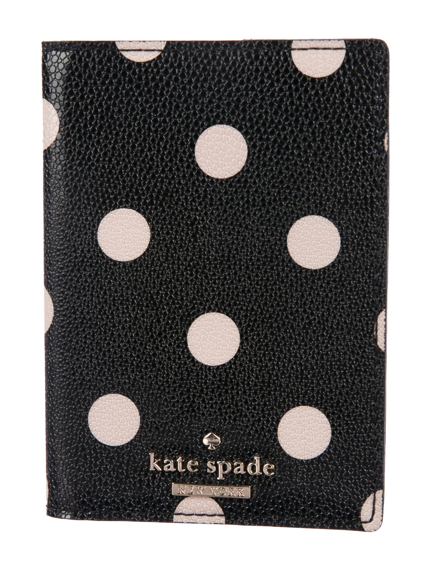 e15b996c262f Kate Spade New York Leather Polkadot Passport Holder - Accessories ...