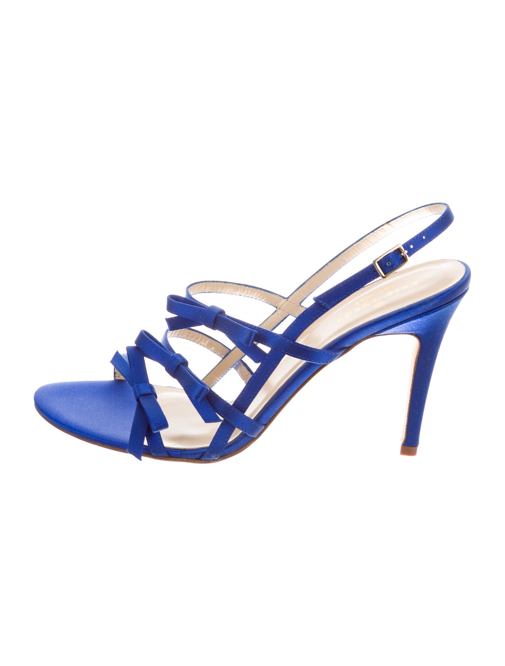 cheap sale with paypal cheap sale online Kate Spade New York Satin Bow-Accented Sandals hpZKgUG31