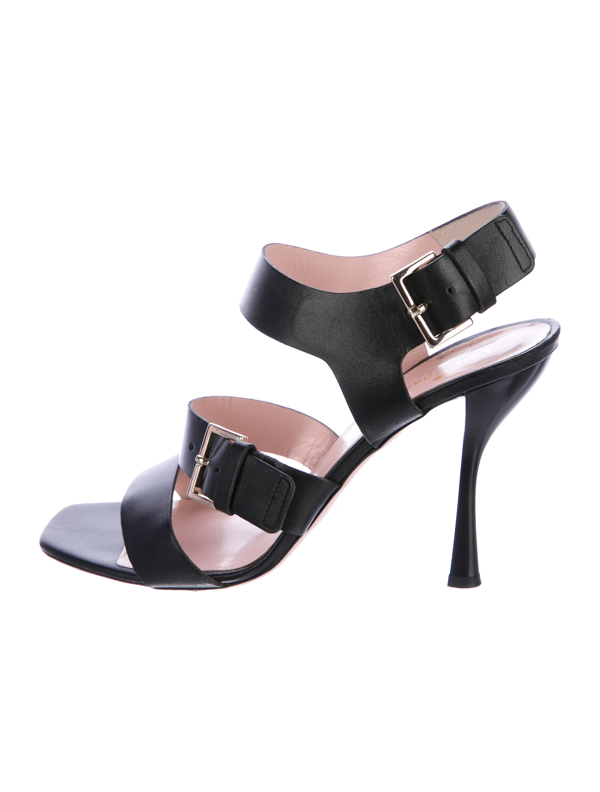 cheap official Kate Spade New York Leather Multi-Strap Sandals cheap sale 2014 newest MGMokM6Wfz