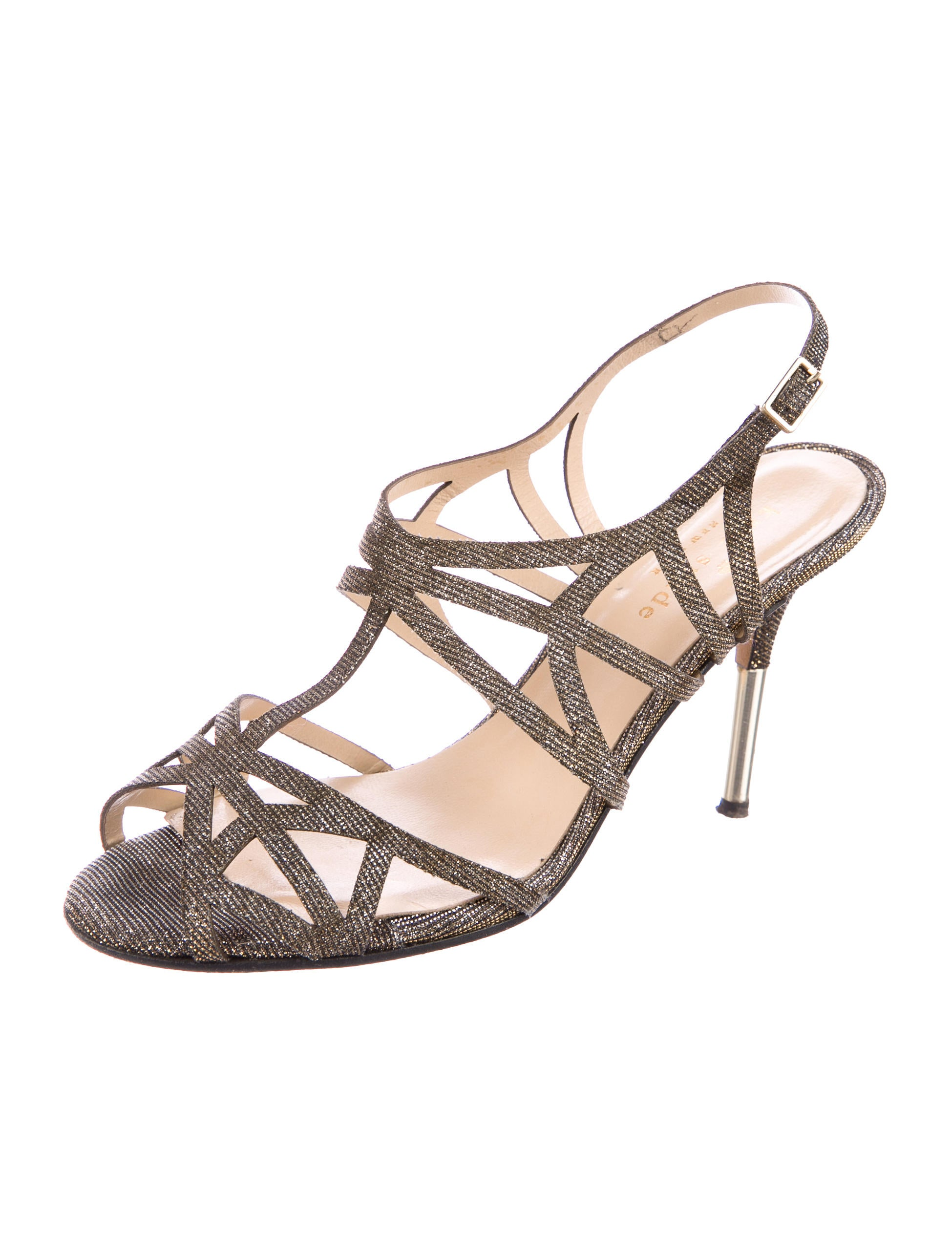 Kate Spade New York Metallic Caged Sandals cheap sale footlocker pictures free shipping high quality largest supplier online buy cheap reliable cheap sale websites fz1mJ
