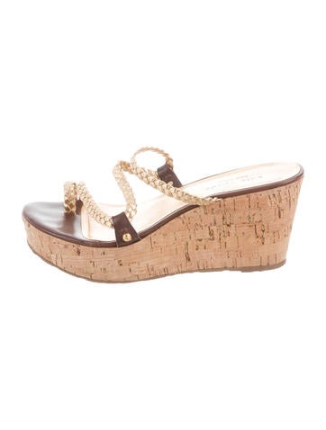 Kate Spade New York Metallic Wedge Sandals None