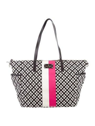Kate Spade New York Classic Adaira Baby Diaper Bag None
