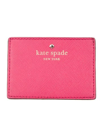 Kate Spade New York Leather Card Holder None