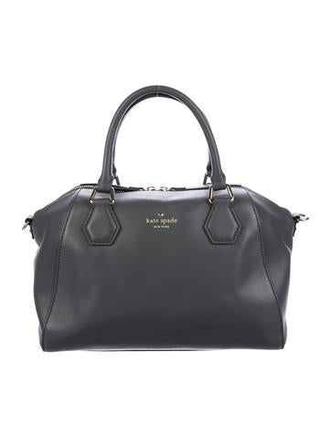 Kate Spade New York Leather Satchel None