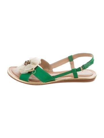 Kate Spade New York Floral Slingback Sandals None
