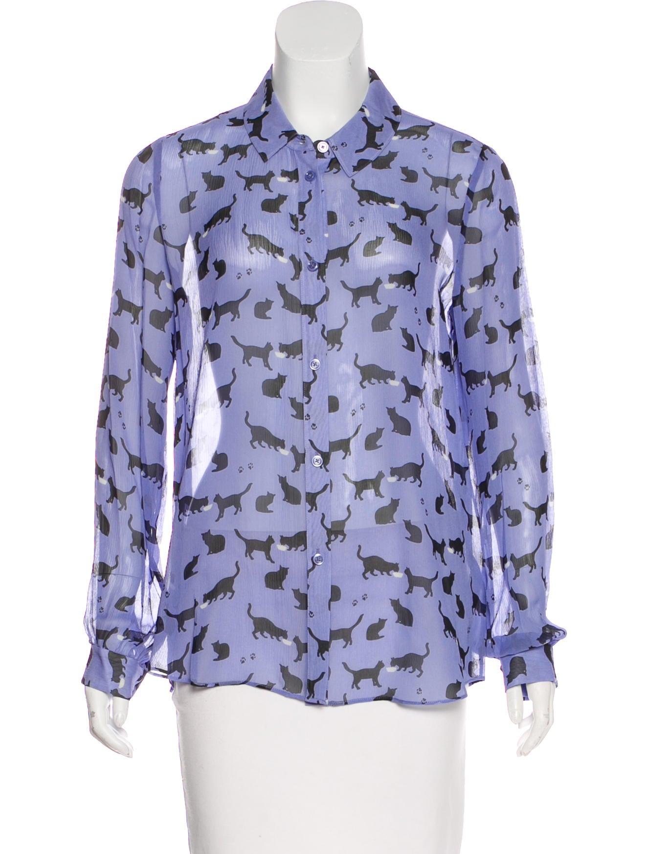 431aabb3 Periwinkle Blue Silk Blouse | Toffee Art