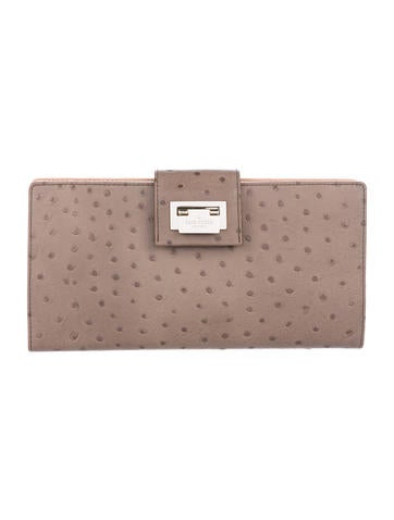 Kate Spade New York Embossed Leather Clutch None